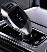 Bluetooth FM transmitter zajszűrővel