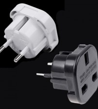 Hálózati adapter UK 3 pin-ről EU 2 pin-re