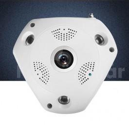 360°-os WiFi-s  HD Megfigyelő Panoráma Kamera