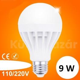9W LED izzó e27 foglalattal
