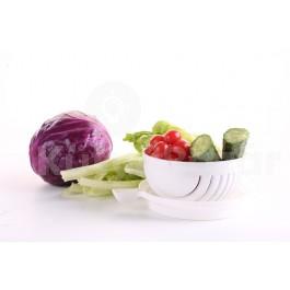 Saláta készítő tál, Tálalj salátát 1 perc alatt!