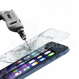 iPhone 5 5S 5C tempered glass strapabíró edzett üvegfólia - védd a kijelzőt