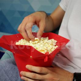 Összecsukható popcorn készítő