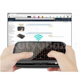 Vezeték nélküli érintőképernyős billentyűzet/távírányító okos TV-hez, számítógéphez