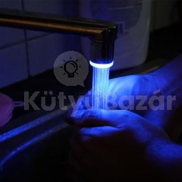 LED-es csapvég hőmérséklet szenzoros ELEM NÉLKÜLI