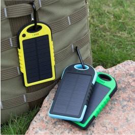 Vízálló napelemes töltő, power bank