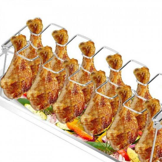 Csirkecomb grilltartó állvány
