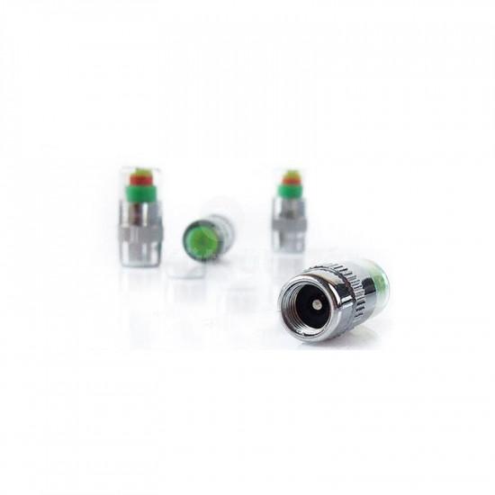 Guminyomás mérő, keréknyomás ellenőrző, guminyomás mérő szelepsapka 4 db