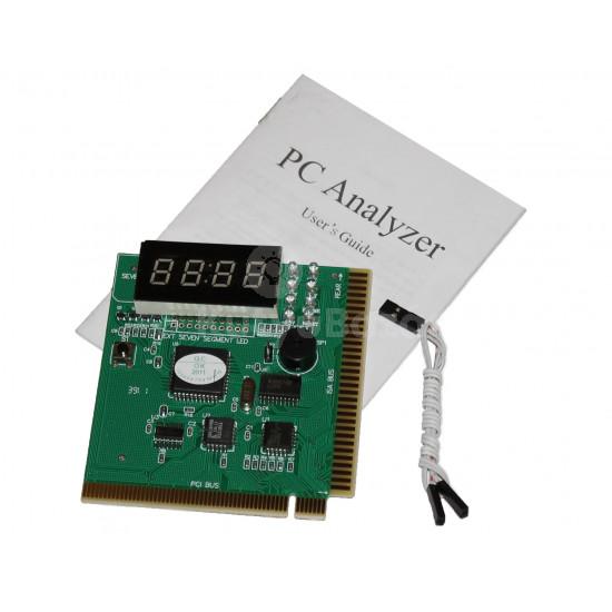 PC diagnosztika alaplap POST teszter PCI ISA