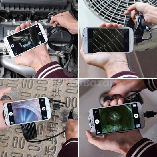 Endoszkóp kamera (2 méteres, vízálló)