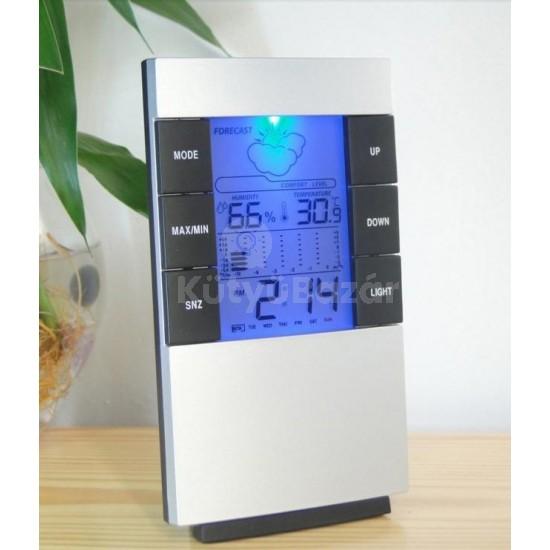 Digitális időjárás állomás páratartalom mérő  páratartalommérő