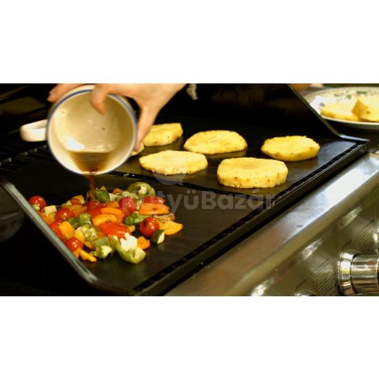 Grill sütőlap, grill alátét (tapadásmentes)
