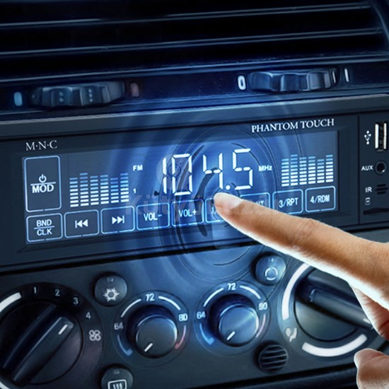 M.N.C MP3-as érintőkijelzős autórádió USB/MSD/MMC/AUX támogatással