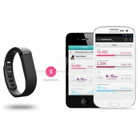 Fitbit Flex bluetooth okoskarkötő