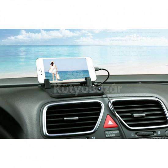 Univerzális, állítható autós telefontartó