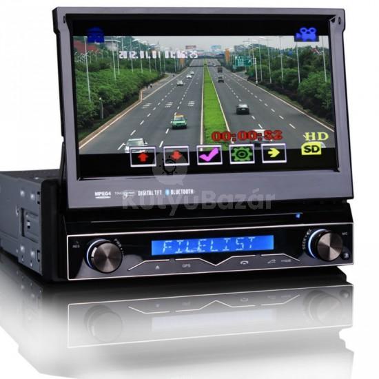 HD Érintőkijelzős Autós DVD USB multimédiás fejegység