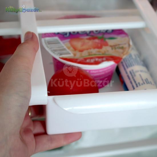 Hűtő rendszerező, hűtőbe helyezhető tárolódoboz