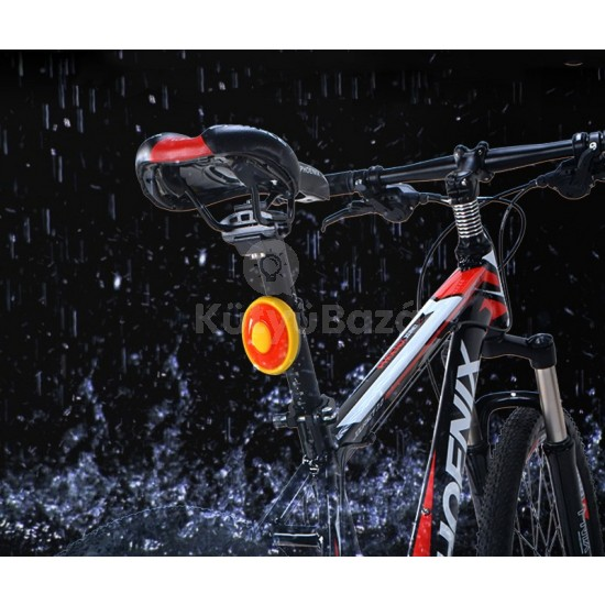 Intelligens kerékpár hátsólámpa, féklámpa