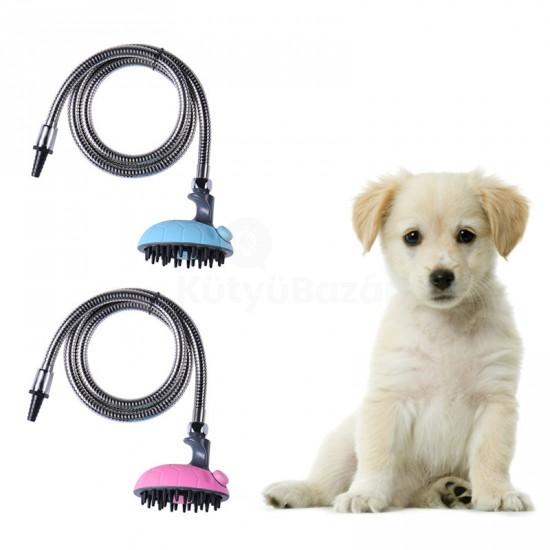 Masszázs kutya zuhany