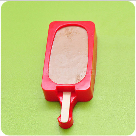 2 db Szilikon jégkrém készítő forma