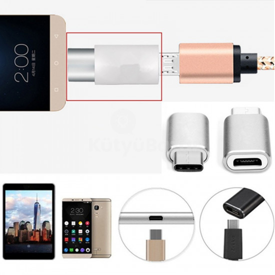 Micro USB - USB C konverter