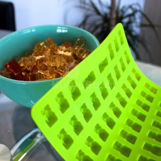 Gumicukor forma, házi gumicukor készítő, gumimaci forma