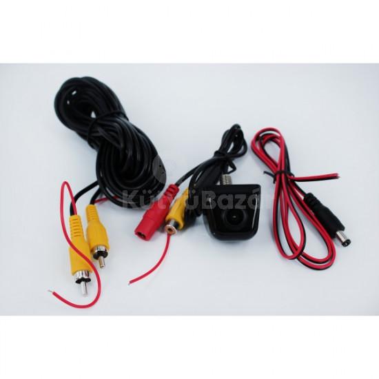 Befúrható tolatókamera vízálló, műanyag