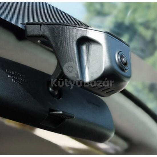 Visszapillantó tükörre szerelhető autós kamera