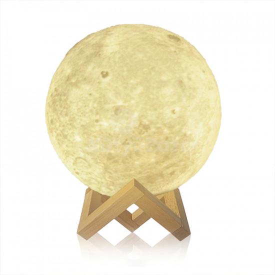 Asztali lámpa, hold lámpa, gömb lámpa, dekor lámpa