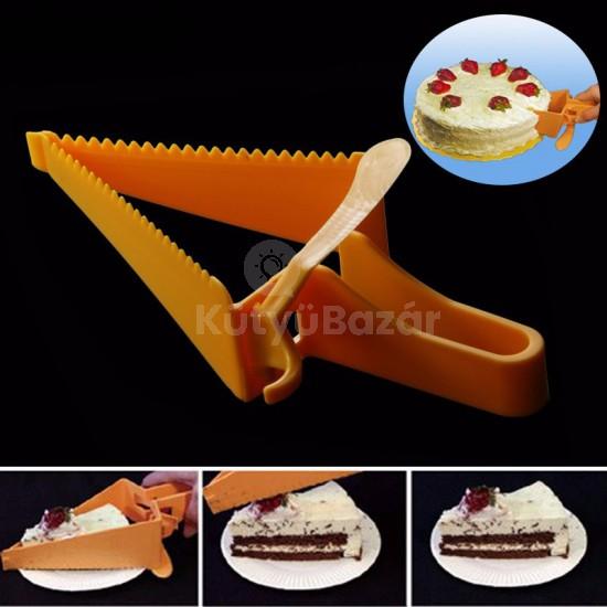Állítható méretű tortaszeletelő – tortavágó