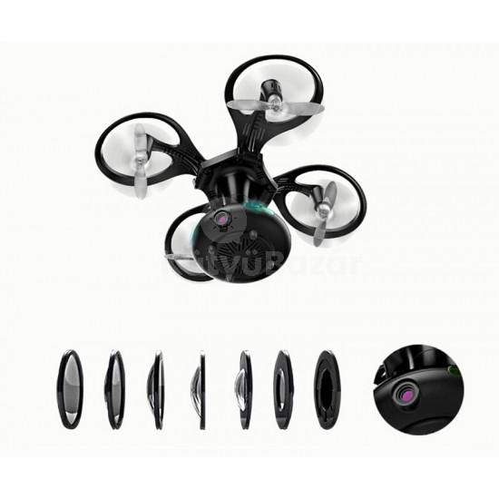 Gömbkopter – Gömbbé összecsukható mini drón