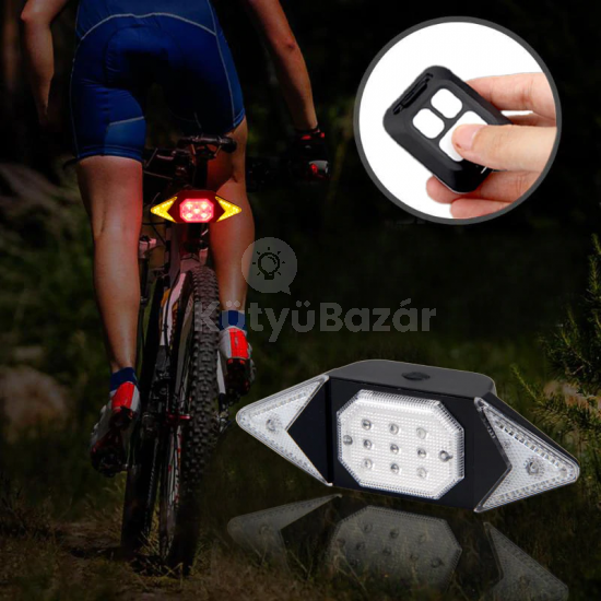 Kerékpár irányjelző, index lámpa