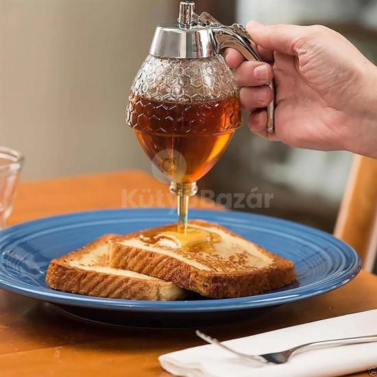 Cseppmentes méz és szirup adagoló