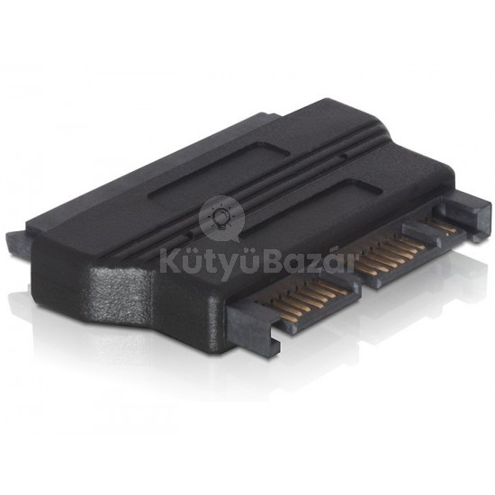 Micro SATA - SATA átalakító adapter