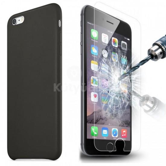 iPhone 6 6S tempered glass strapabíró edzett üvegfólia - védd a kijelzőt