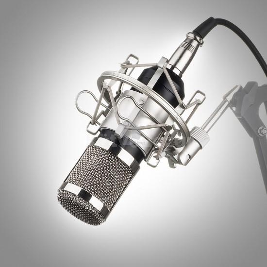 Professzionális BM-800-as kondenzátoros mikrofon