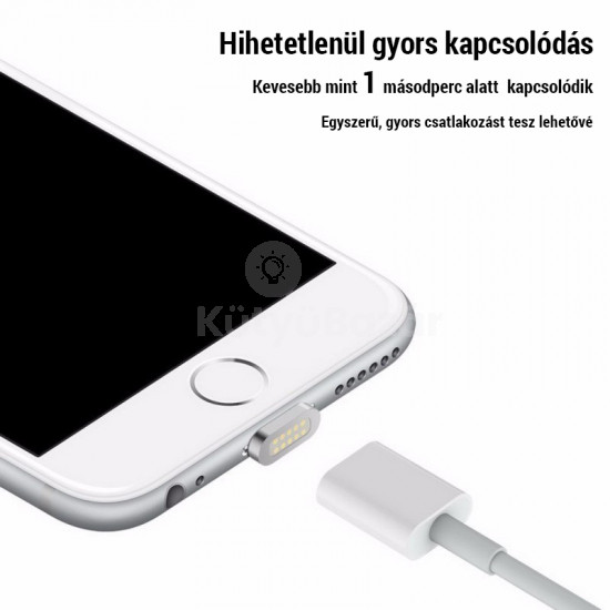 Prémium mágneses usb kábel iPhone készülékekhez és iPad-ekhez