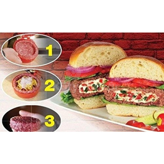 Hamburgerprés, hamburgerhús formázó