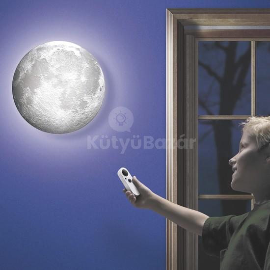 Holdfény lámpa 12 különböző holdfázissal, távirányítóval hangulatlámpa