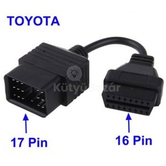 Toyota OBD 17 PIN átalakító Toyota diagnosztika