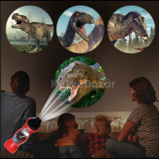 Dinoszauruszos projektor, Dínós éjjeli kivetítő