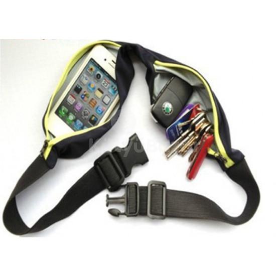 Futóknak univerzális sport öv futóöv telefonnak, kulcsnak, stb