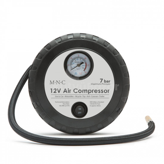 Szivargyújtós kompresszor