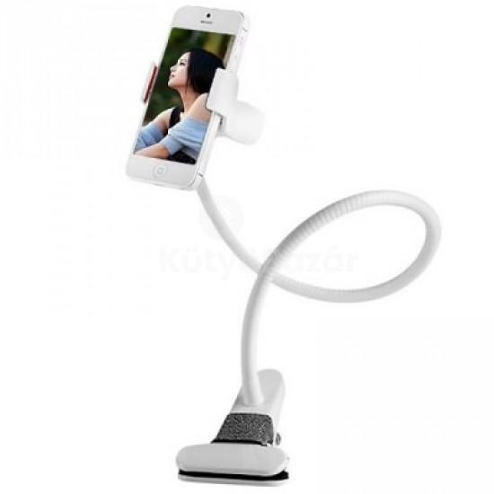 Felcsíptethető flexibilis univerzális telefontartó mobil tartó