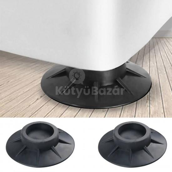 Rezgéscsillapító mosógép talp, csúszásgátló talpak (4 db)
