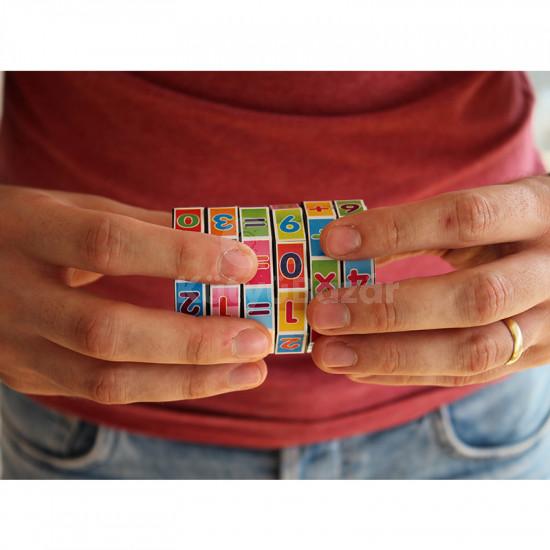 Matematikai játék, oktatójáték, tanulást segítő henger