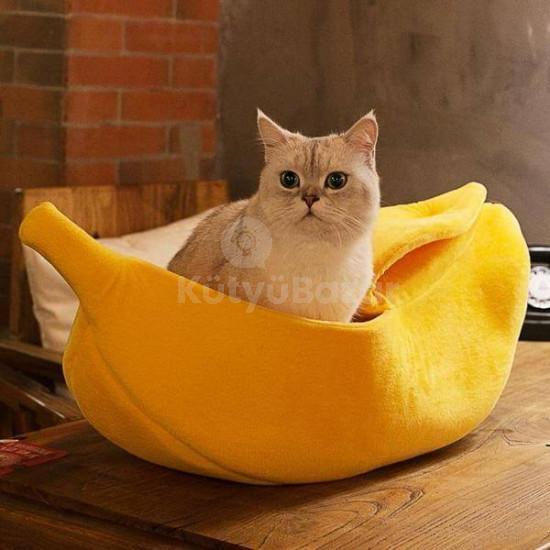 Banán alakú cicaágy