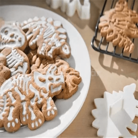 Dinós keksz forma és minta (3db)
