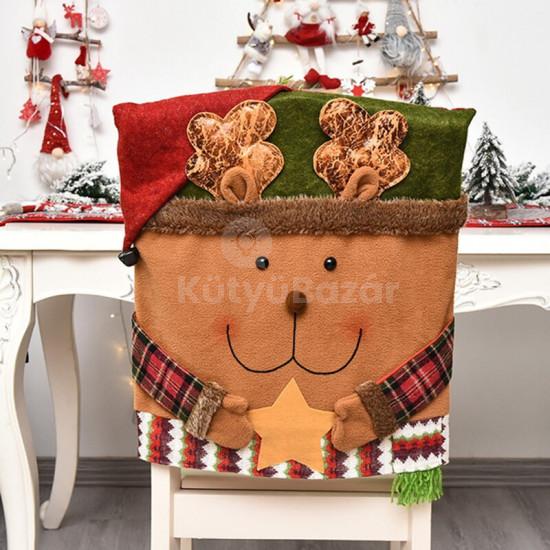 Karácsonyi Széktámla Huzat