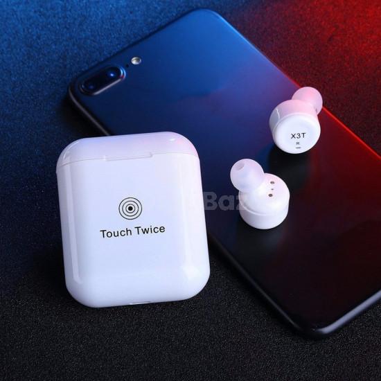 X3T Vezeték nélküli Bluetooth-os fülhallgató érintésvezérléssel
